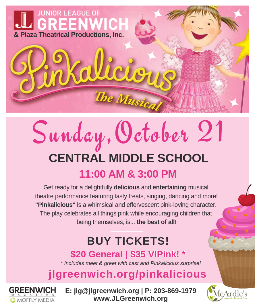 pinkalicious junior league of greenwich
